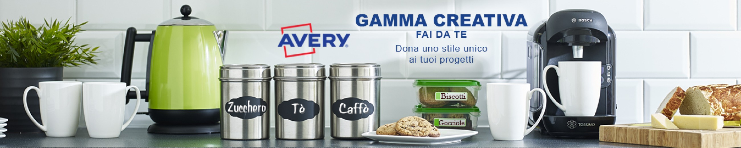 gamma creativa Avery